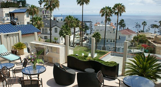 The hotel that is Sleek. Modern. Cool.  Welcome to a new era in Catalina Island hospitality.